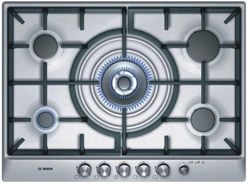 Varná deska plyn. Bosch PCQ 715M90E nerez