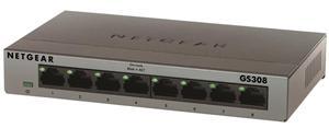 Netgear 8x 10/100/1000 Switch (metal case)