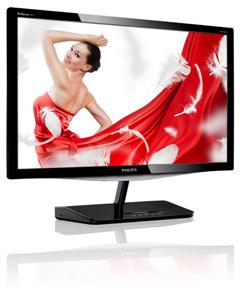 "Philips LCD 229C4QSB 21,5""wide/1920x1080/7ms/20mil:1/DVI/LED/IPS/Slim"