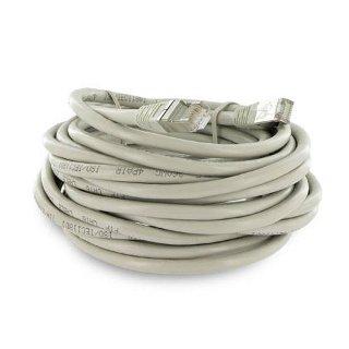 4World Síťový kabel RJ45, bez krytky, Cat. 6 FTP, 10m, Šedý