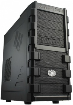 CoolerMaster case miditower HAF 912 Combat, ATX, USB2.0, bez zdroje, black