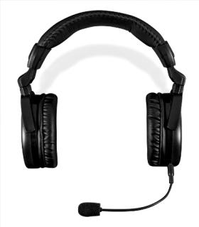Modecom MC-828 STRIKER headset, herní sluchátka s mikrofonem, černo-červená
