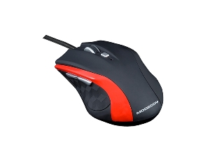 Modecom optická myš MC-M5 (červená)