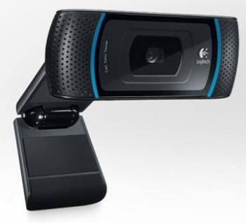 Logitech HD Webcam B910, HD 720p, 16:9, Carl Zeiss®, autofocus