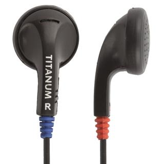 Titanum TH102 Stereo sluchátka do uší, černá