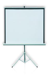 2x3 ETPR2020R PROFI přenosné promítací plátno na stativu 199x199