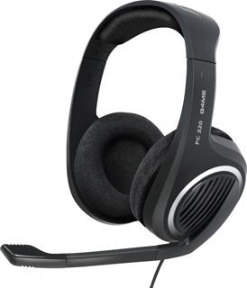 SENNHEISER PC 320 black (černá) High-end headset - oboustranná sluchátka s mikrofonem