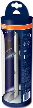 Osram orientační světlo LEDstixx 0,31W 4,5, 4 LED, hliníkové zpracování, blister