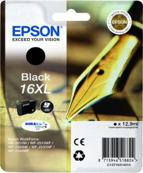 Epson Singlepack Black 16XL DURABrite Ultra Ink