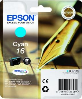 Epson Singlepack Cyan16 DURABrite Ultra Ink