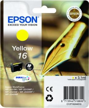 Epson Singlepack Yellow 16 DURABrite Ultra Ink