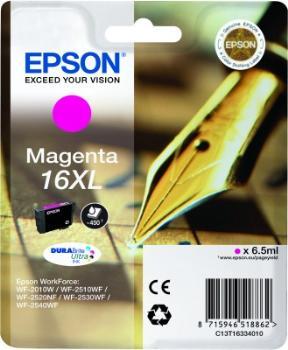 Epson Singlepack Magenta 16XL DURABrite Ultra Ink