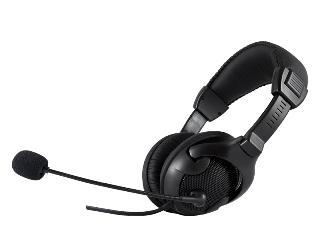 LOGIC sluchátka s mikrofonem LH-40 černá