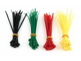 Gembird vázací nylonový pásek 100mm x 2,5mm (100ks) 4 barvy
