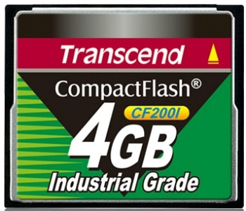 Transcend 4GB INDUSTRIAL CF 200X (Fixed disk and UDMA mode)