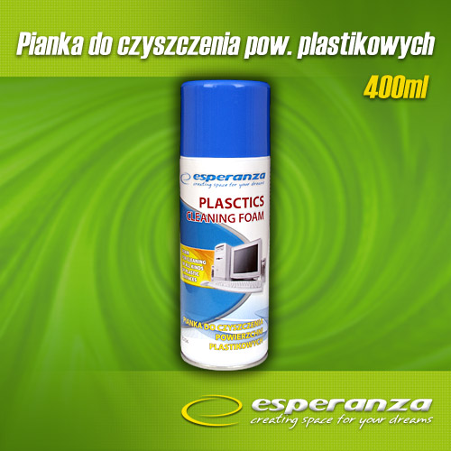 Esperanza ES104 Čisticí pěna na plasty, 400ml