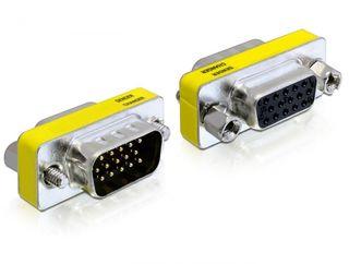 Delock adaptér VGA samec / samice