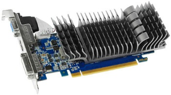 ASUS GeForce GT 610, 2GB DDR3 (64 Bit), HDMI, DVI, BOX