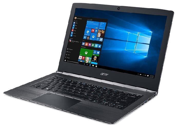 """Acer Aspire S 13 (S5-371-73UW) i7-7500U/8GB+n/a/256GB SSD M.2 + n/a/HD Graphics/13.3"""" FHD/BT/W10 Home/Black"""