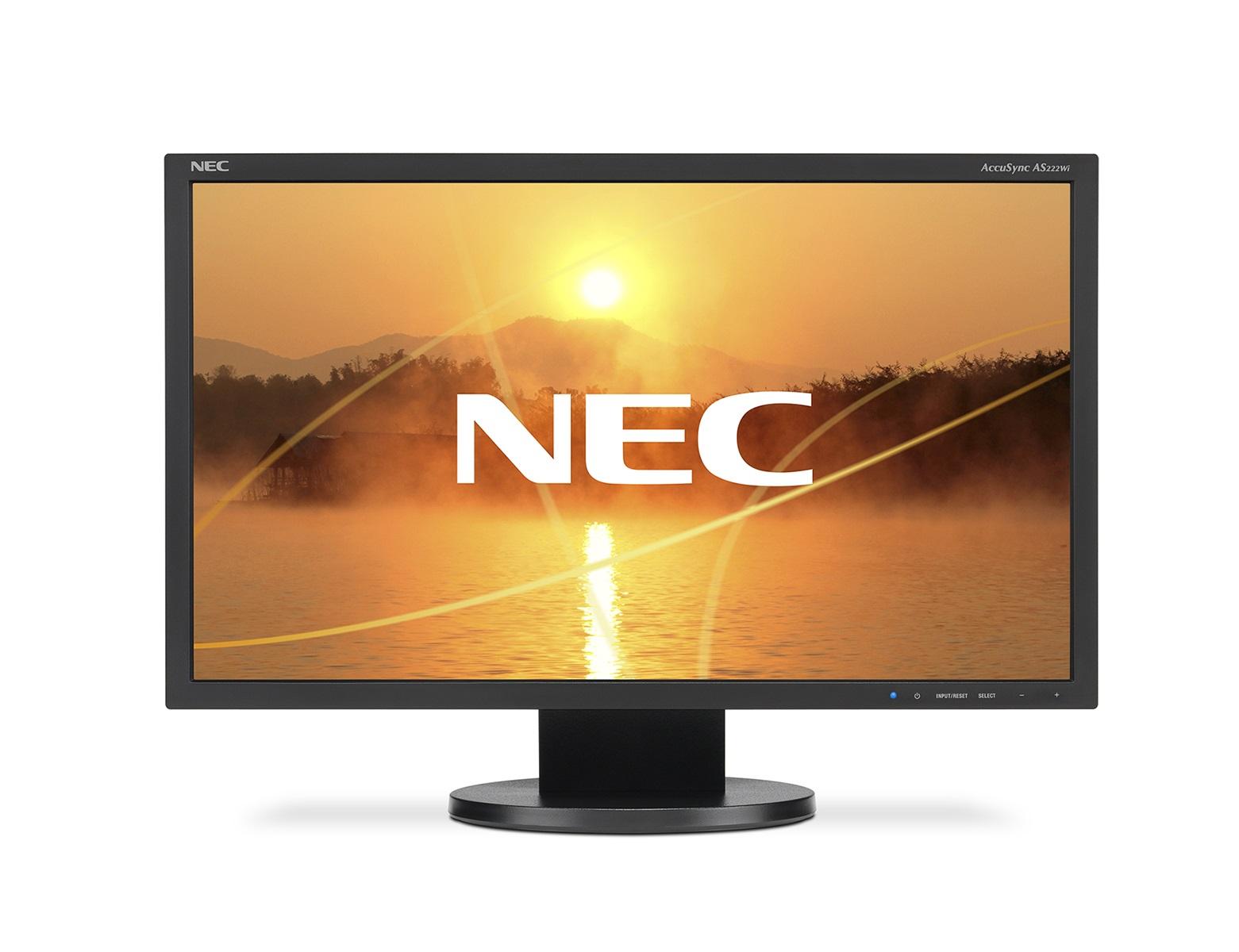 "22"" LCD NEC AS222Wi - Full HD, DVI, rep"