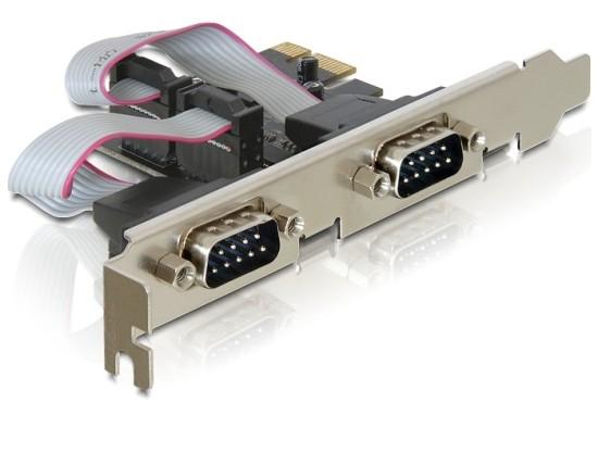 Delock karta PCI Express -> 2x serial com 9pin