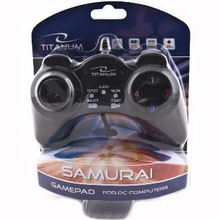 Titanum TG105 SAMURAI gamepad pro PC, USB