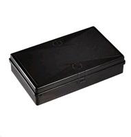 MAGG Plastový box 152x252x56mm - černý