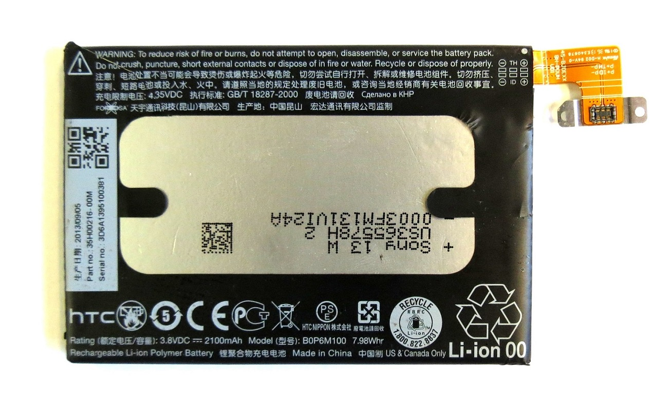 HTC baterie B0P6M100 2100mAh pro One mini 2 Bulk