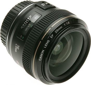 Canon EF 28mm f/2.8 IS USM objektiv