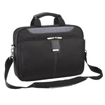 Targus 15 - 15.6 inch / 38.1 - 39.6cm Transit Toploading Case - Black / Grey