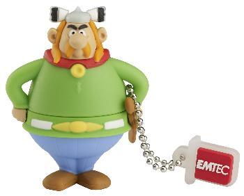 EMTEC Asterix Series AS102 4GB USB 2.0 flashdisk (18MB/s, 8MB/s), Abraracourcix