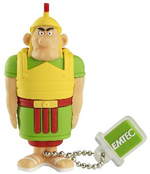 EMTEC Asterix Series AS103 4GB USB 2.0 flashdisk (18MB/s, 8MB/s), Říman
