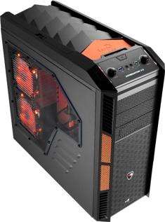 PC skříň Aerocool X-PREDATOR X3 Evil, 2xUSB 3.0, černá (bez zdroje)