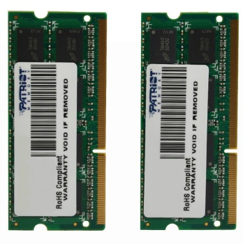 SO-DIMM 16GB DDR3-1600MHz PATRIOT CL11, kit 2x8GB
