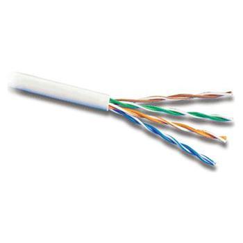 PremiumCord TP Kabel 4x2,lanko/licna UTP Cat5e AWG24/7,čistá měď 305m šedá