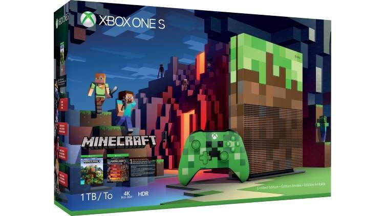 XBOX ONE S 1 TB Limitovaná Edice Minecraft