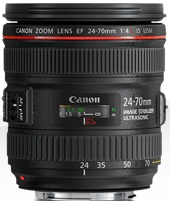Canon EF 24-70mm f/4 L IS USM objektiv