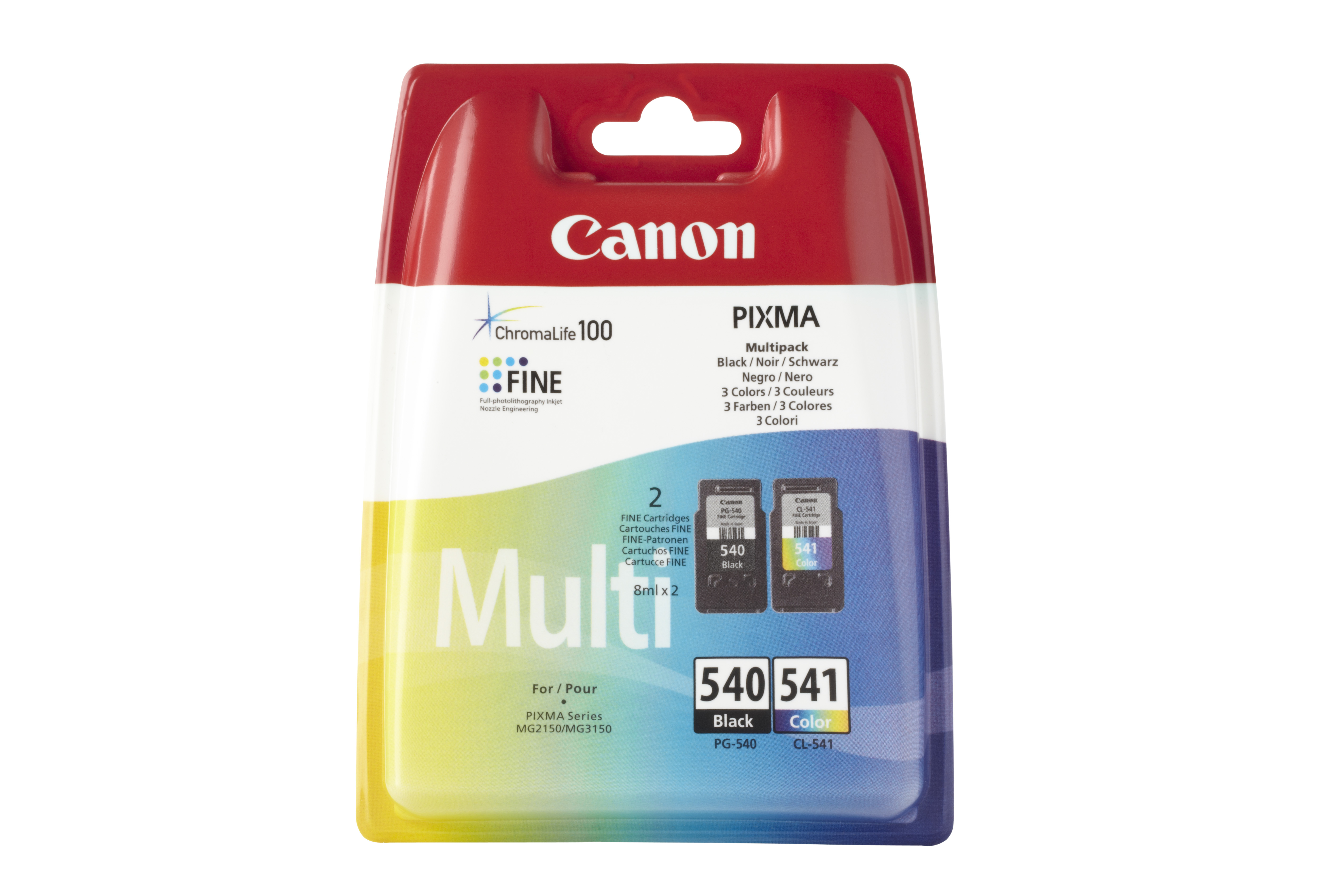 Canon cartridge PG-540 / CL-541 Multi pack SEC
