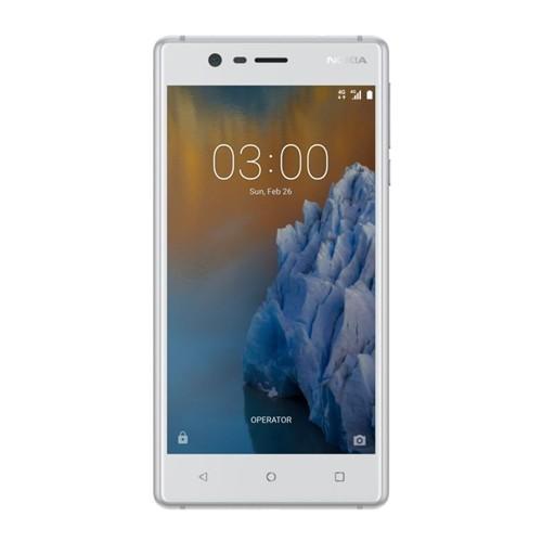 Nokia 3 White Silver Single SIM