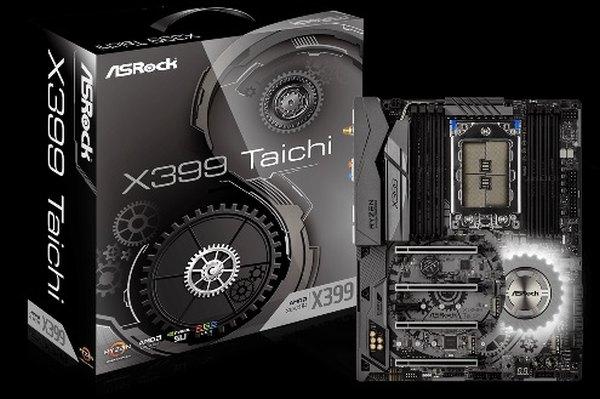 ASRock X399 TAICHI, TR4 X399, DDR4 3600+(OC), USB 3.1