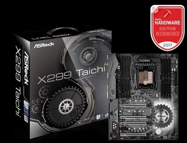 ASRock MB Sc LGA2066 X299 Taichi, Intel X299, 8xDDR4