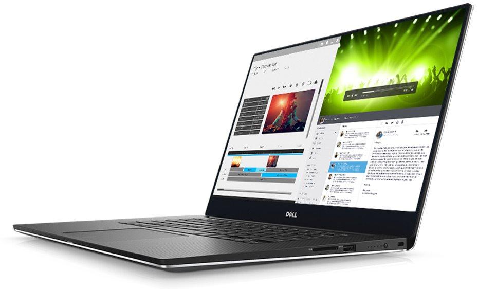 """DELL XPS 15 (9560)/i7-7700HQ/8GB/256GB SSD/4GB Nvidia 1050/15.6"""" FHD/Win 10 64bit PRO/Silver"""
