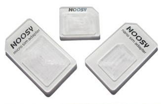 Adaptér pro NanoSIM karty + MicroSIM adaptér ZDARMA - Apple iPhone 5 - bílý