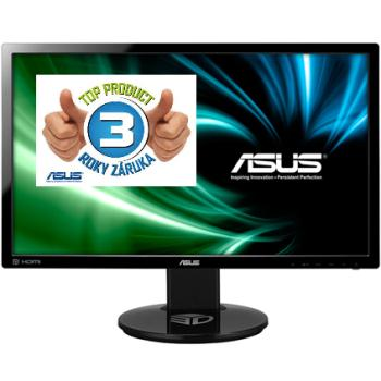 Asus LCD-LED VG248QE 24'' wide FHD 144Hz, 1ms, DC 80mil:1, DVI, HDMI, DP, HAS,č.