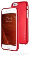 Mercury Goospery zadní kryt iJelly Metal pro iPhone 5S/SE Red