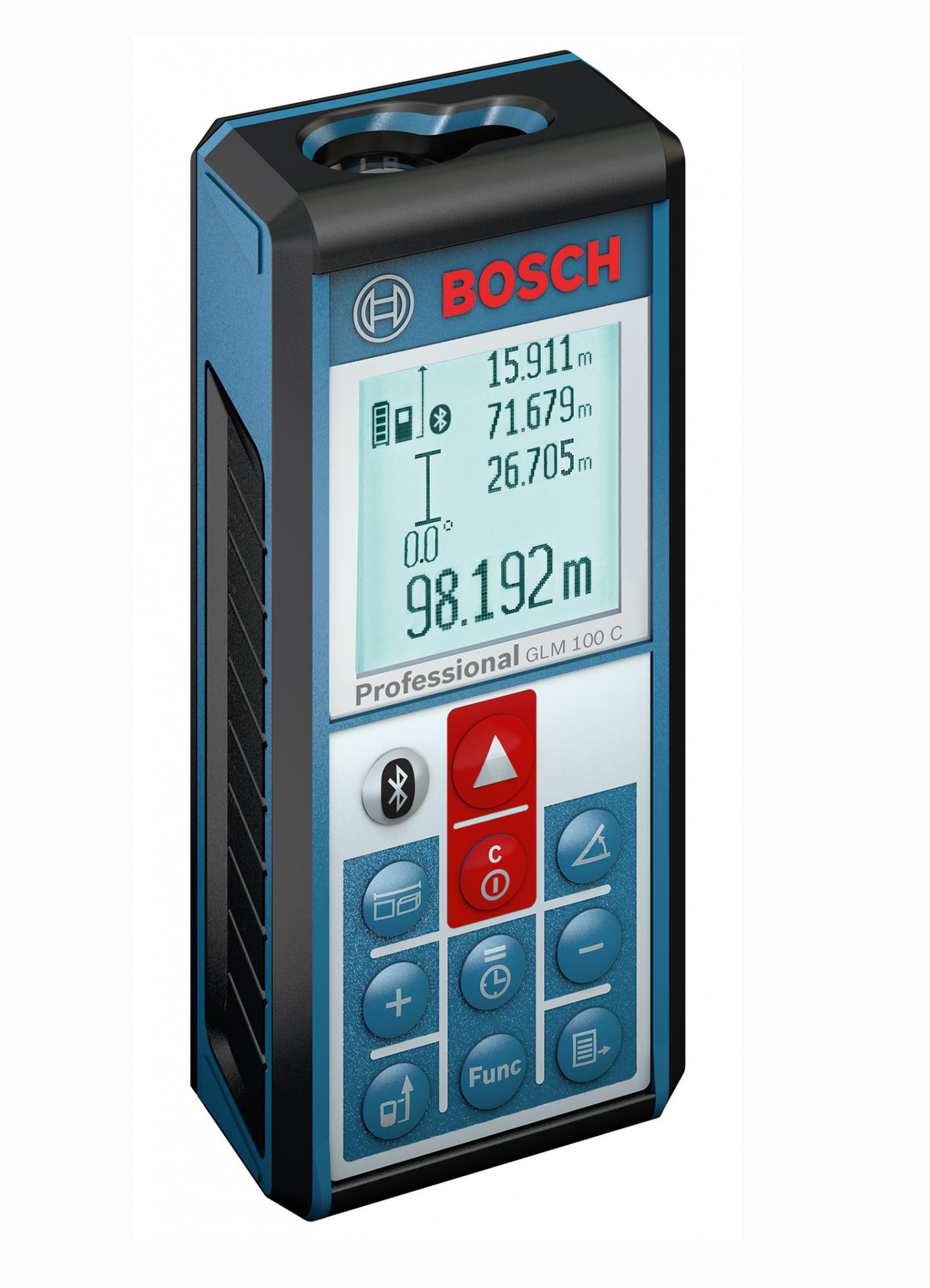 Dálkoměr laserový Bosch GLM100C (0601072700)