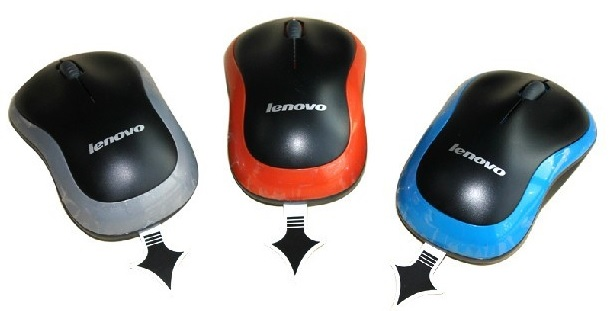 Lenovo Idea myš Wireless Mouse N1901B Orange = oranžová