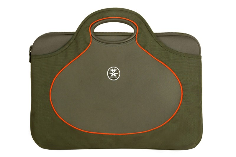 "Crumpler THE Gumb Bush XL 17W"" - charcoal/carrot"