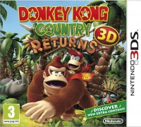 Nintendo 3DS hra Donkey Kong Contry Returns 3D