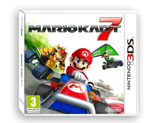 Nintendo 3DS hra Mario Kart 7